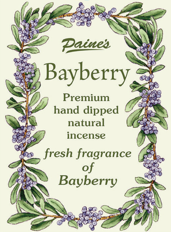 Bayberry Scented Long Stick Incense