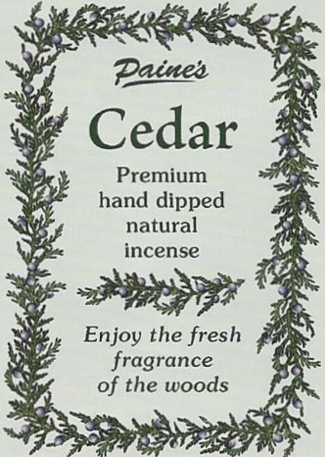 Cedar Scented Long Stick Incense