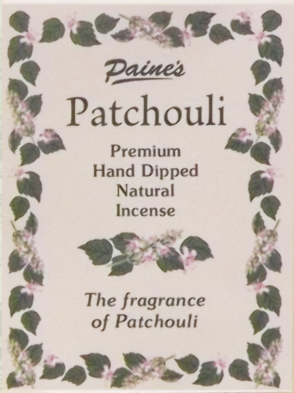 20 Patchouli Scented Long Stick Incense
