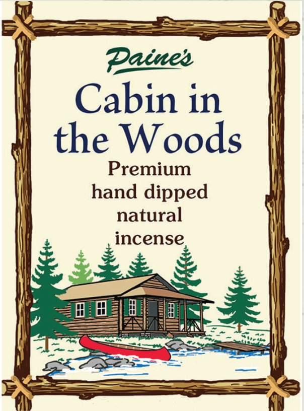 20 Summer Cabin in the Woods Scented Long Stick Incense
