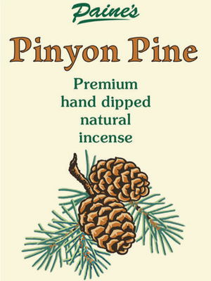 20 Summer Pinyon Pine Scented Long Stick Incense