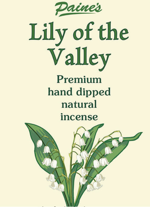 20 Summer Lily of the Valley Scented Long Stick Incense