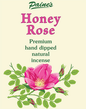 20 Summer Rose Scented Long Stick Incense
