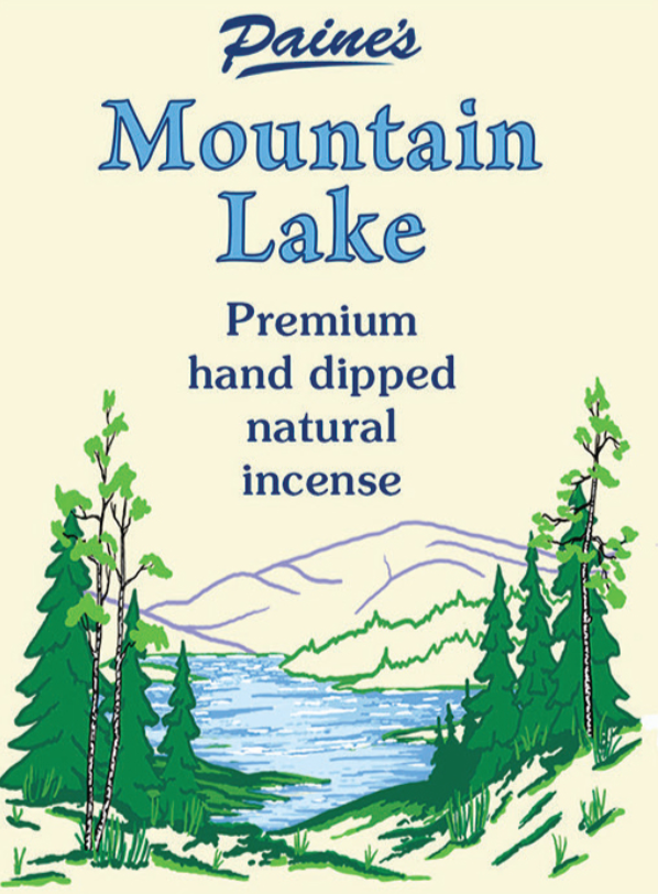 20 Mountain Lake Scented Long Stick Incense