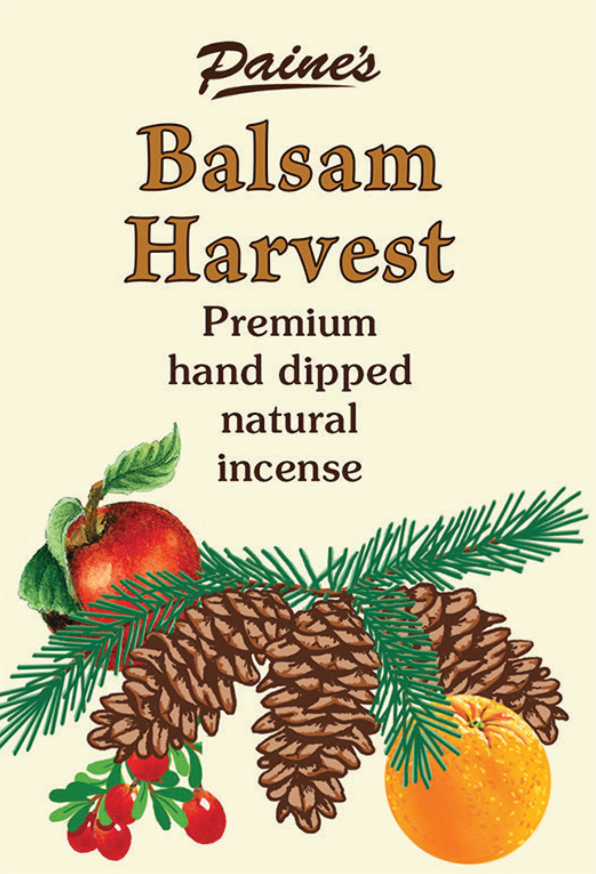 20 Balsam Harvest Scented Long Stick Incense