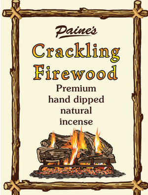 20 Crackling Firewood Scented Long Stick Incense