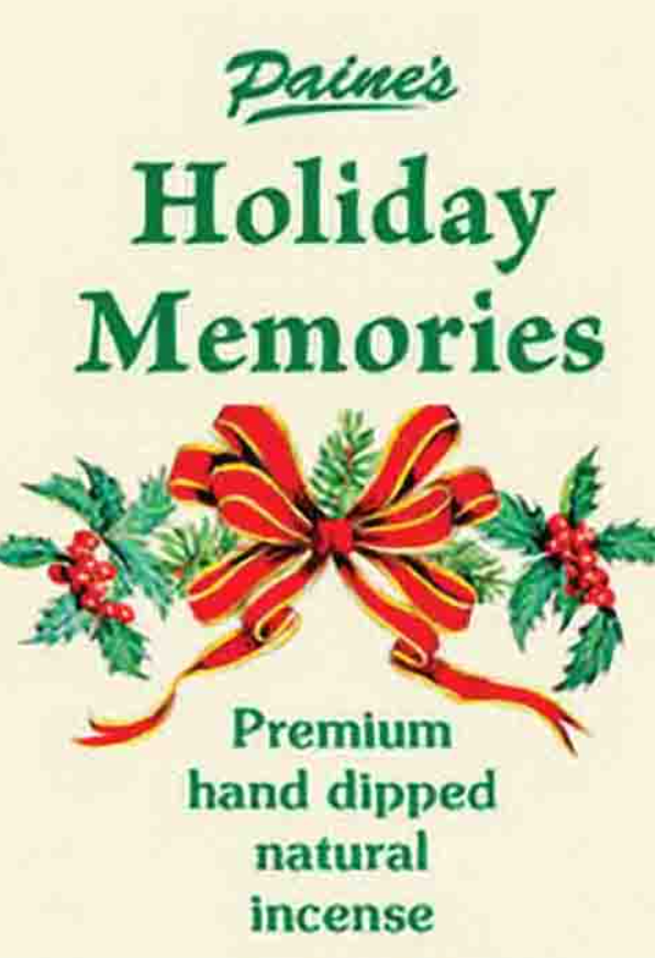20 Holiday Memories Scented Long Stick Incense