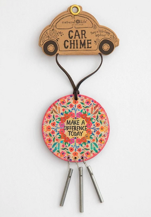 Make A Difference Today Car Charm