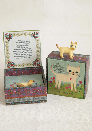 Lucky Little Kitty ~ Lucky Charm Box Gift Set