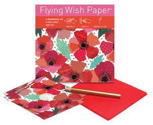 POPPIES Mini Flying Wish Paper Kit