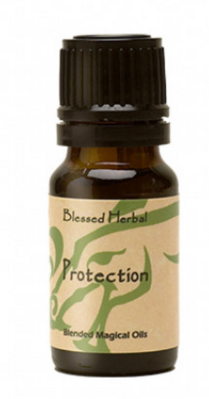 Protection Blessed Herbal Oil (1 oz)