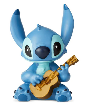 Stitch w/ Guitar mini figure - Disney Showcase