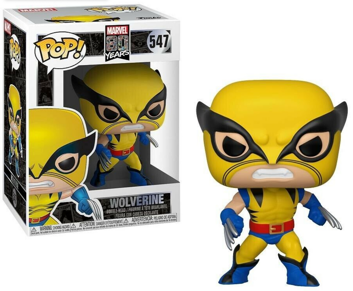 Pop Vinyl Figurine First Appearance Wolverine #547 - Marvel 80th