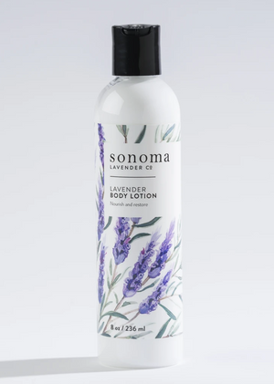 Lavender Body Lotion ~ Sonoma Lavender Luxury Spa Gifts