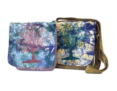 Tree of Life Multi-Color Flip Bag