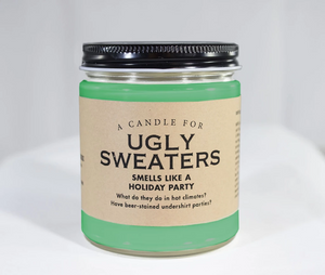 A Candle for Ugly Sweaters ~ Smells Like a Holiday Party