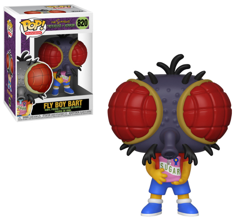 Funko Pop Vinyl Figurine Fly Boy Bart The Simpsons Treehouse of Horror