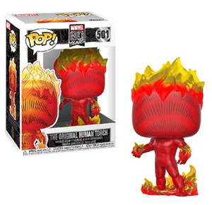 Funko Pop Vinyl Figurine The Original Human Torch - The Fantastic Four Marvel 80th Anniversary
