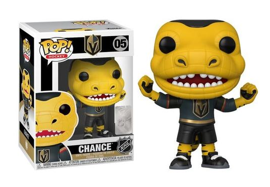 Funko Pop Vinyl Figurine Chance Gila Monster mascot - NHL Vegas Golden Knights
