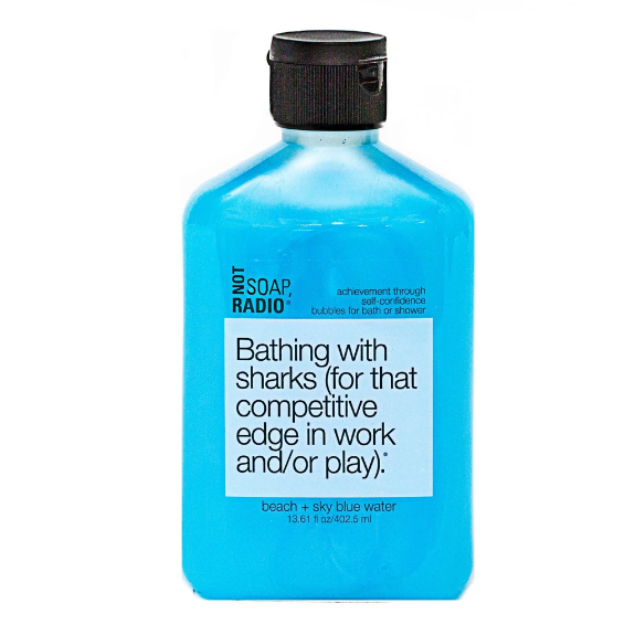 Bathing with sharks (for that competitive edge in work and/or play) Bath/Shower Gel