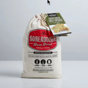 Soberdough Brew Bread ~ Green Chile Cheddar
