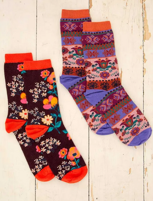Cute & Cozy Boho Socks Set