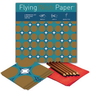 HOLIDAY WRAP Large Flying Wish Paper Kit