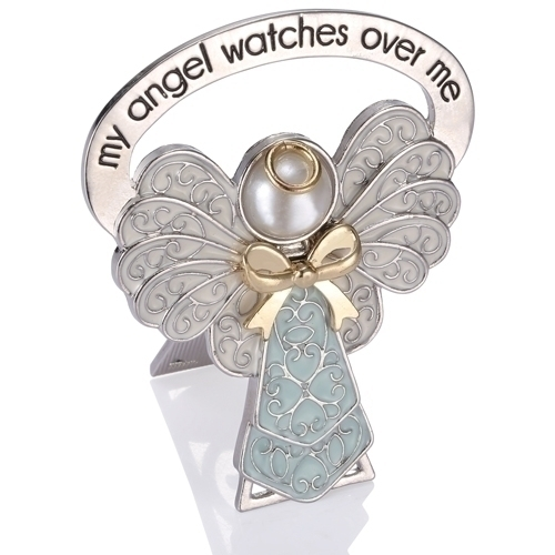 My Angel Watches Over Me ~ Blue Bedside Angel