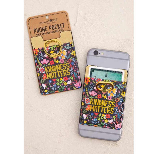 Kindness Matters Phone Pocket Ring