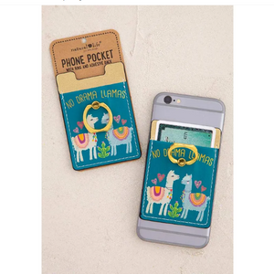 No Drama Llamas Phone Pocket Ring