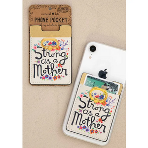 Strong As a Mother Phone Pocket Ring