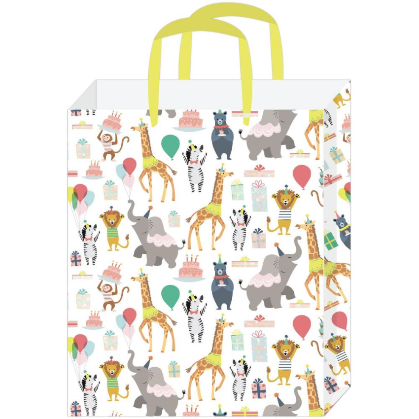 Party Animal Glitter Large Gift Bag