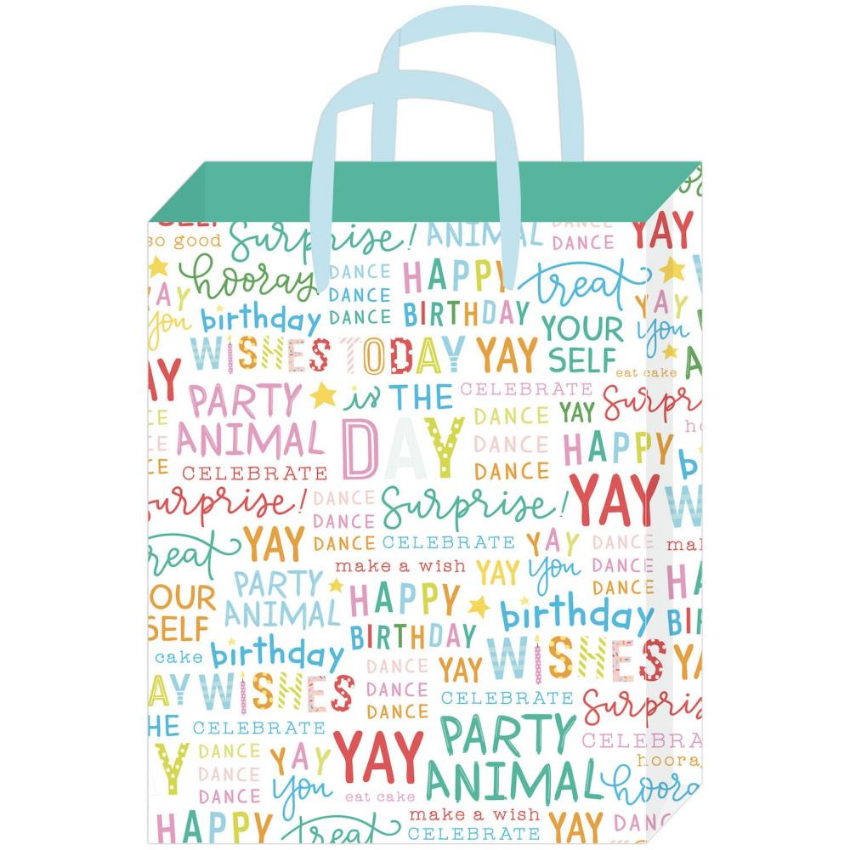 Birthday Wishes Medium Gift Bag