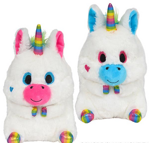 Bright Rainbow Unicorn Plush