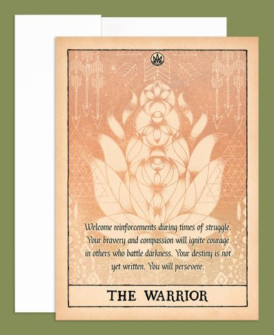 The Warrior Greeting Card