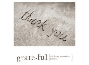 Grateful Thanks and Appreciation Greeting Card