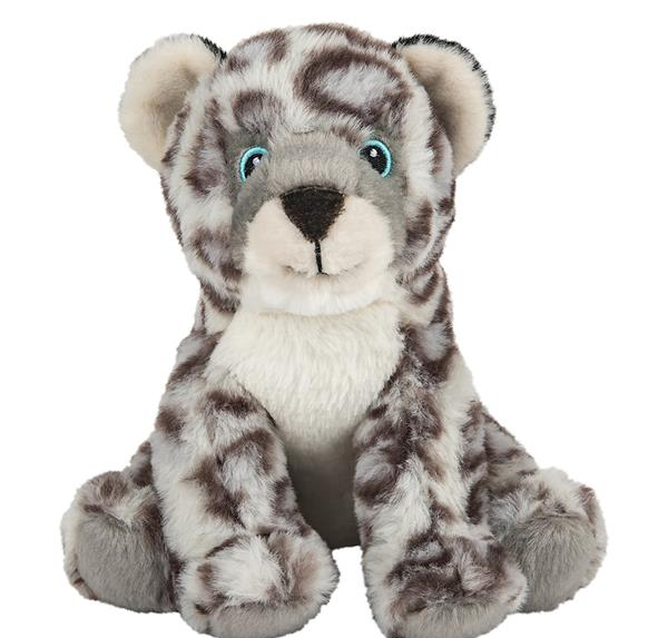 Earth Safe Buddies Snow Leopard Plush