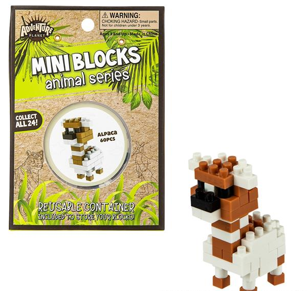 Mini Blocks Animal Series Alpaca