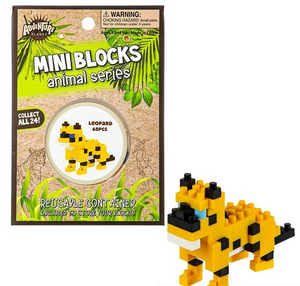 Mini Blocks Animal Series Leopard