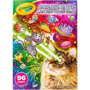 Cosmic Cats Crayola Coloring Book