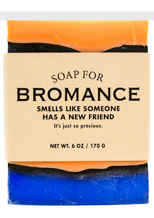 Soap for Bromance ~ Smells Like Someone Has a New Friend