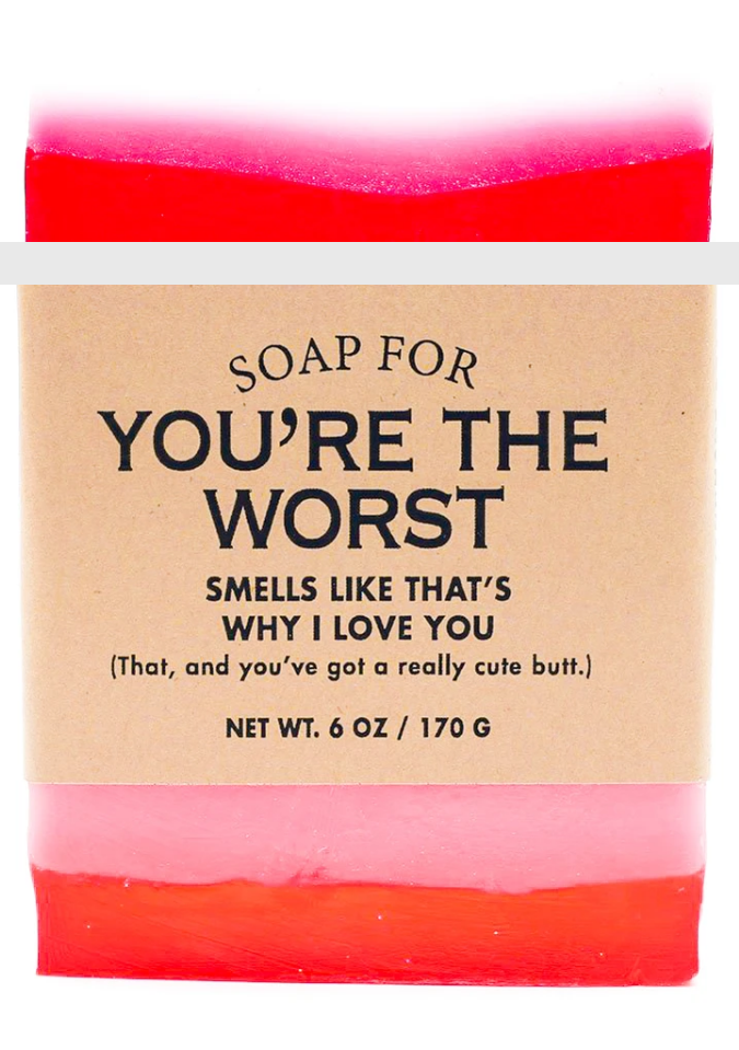 Soap for You're The Worst ~ Smells Like That's Why I Love You