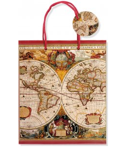 "Old World Gift Bag (8.5"" x 10"" x 3.88"")"