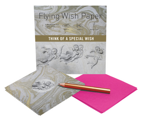 ANGELS Mini Flying Wish Paper Kit