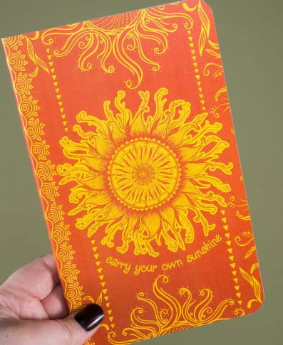 Carry Your Own Sunshine Recycled Notebook