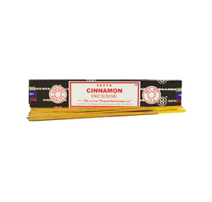 Satya Cinnamon Incense Sticks 15g Box