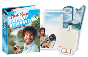 Bob Ross Joy of Painting Sticky Notes Gift Set