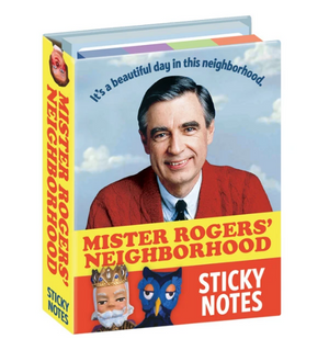 Mister Rogers Sticky Notes Gift Set