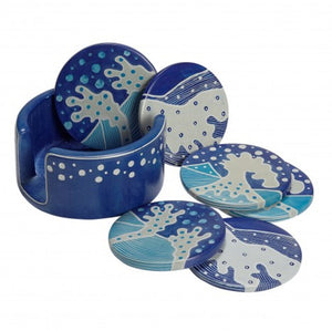 Crashing Waves Kisii Stone Coasters
