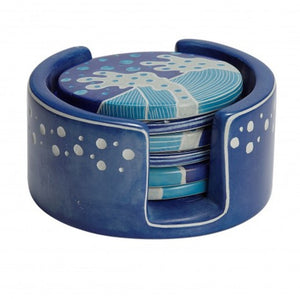 Crashing Waves Kisii Coasters ~ Global Artisan (Global Fair Trade)